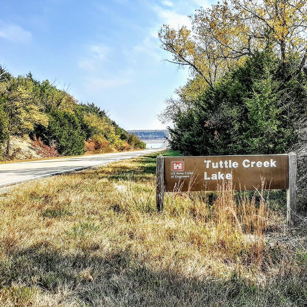 Tuttle Creek Lake State Park, Fancy Creek State Park, Randolph, Riley County Kansas, mile long bridge, Randolph Bridge, the longest bridge in Kansas.