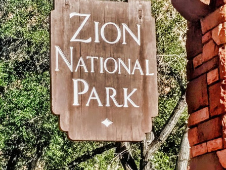 Zion National Park: camping and hiking trip