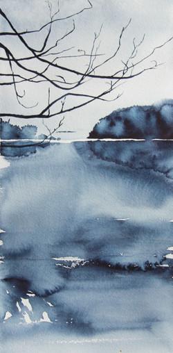 Reflections on a bay | Mökkiranta