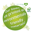 Our books are printed on environmentally-friendly materials