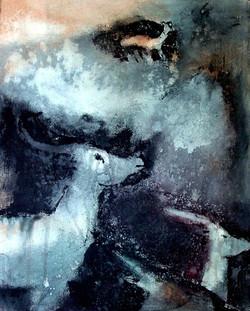 Mourning antilopes, triptych | Surevat antiloopit, triptyykki