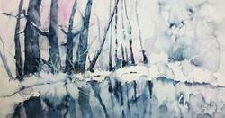 Winter reflections | Talviheijastuksia