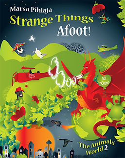 Strange Things Afoot! The Animal's World 2 Cover