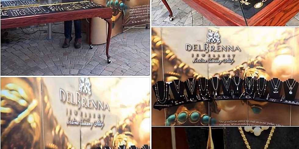 DelBrenna at Jacuzzi TRUNKSHOW
