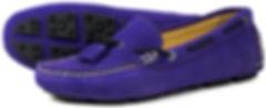 Orca Bay Sicily Violet Navy Driving Loafer