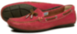 Orca Bay Womens Deck Loafer in Berry