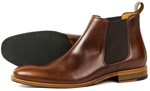 Brompton Brown Pullup Orca Bay Chelsea Boot