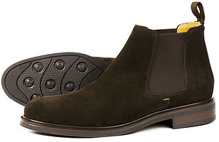 Chalfont Chocolate Suede Orca Bay Chelsea Boot