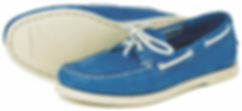 Sandusky Powder Blue Orca Bay Deck Shoe
