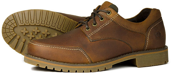 Windermere Havana Orca Bay Leather Wallking Shoe