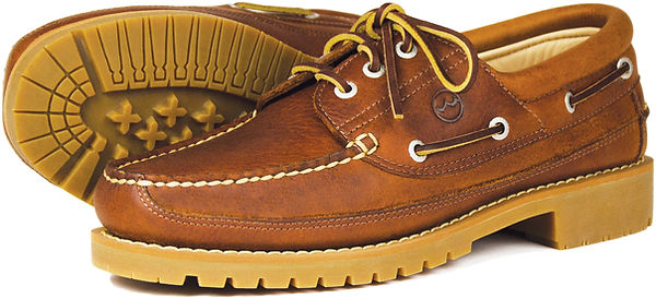 Bison Havana Mens Leather Country Shoe