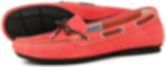 Orca Bay Ballena Fire Red Washable Leather