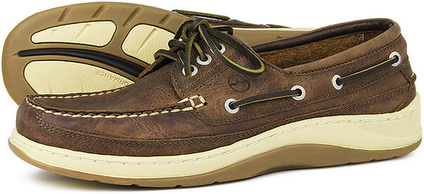 Squamish Russet Mens Boat Shoe Orca Bay