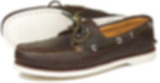 Portland Dark Brown Deck Shoe Orca Bay