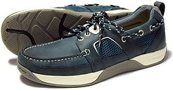 Wave in Navy Orca Bay Sports Boat Shoe