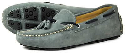 Orca Bay Sicily Grey Navy Driving Loafer