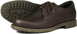 Malvern Dark Brown Orca Bay Walking County Shoe