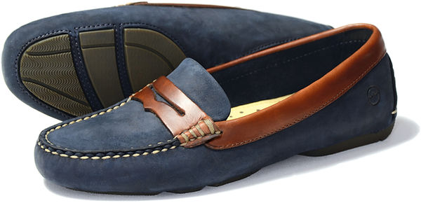 Orca Bay Richmond Navy Oak Driving Loafer