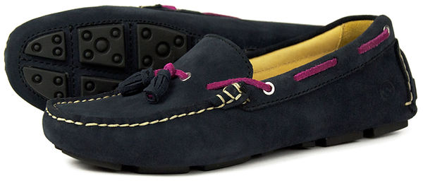 Orca Bay Sicily Navy Blossom Driving Loafer