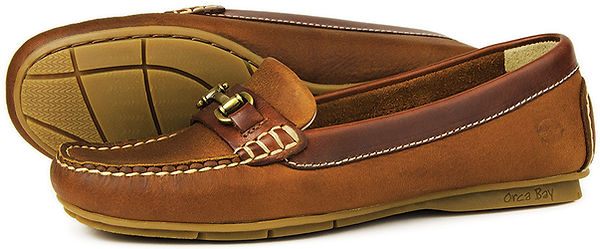 Orca Bay Verona Havana Leater Driving Loafer