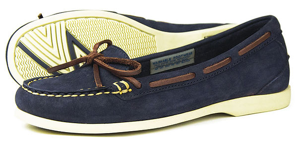Bay Indigo Womens Washable Deck Shoe Pump Orca Bay