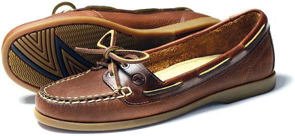 Schooner Havana Womes Leather Deack Shoe Pump