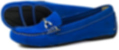 Orca Bay Sorrento Royal Blue Suede Loafer
