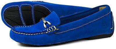 Orca Bay Sorrento Royal Blue Suede Loafer