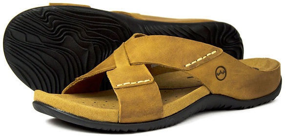 Aruba Sand Mens Sandal Leather Orca Bay