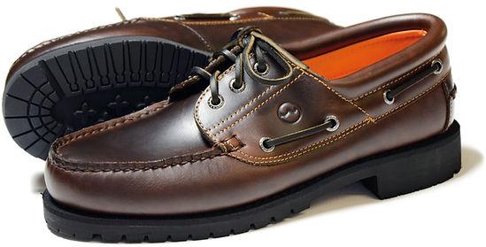 BUFFALO OAK Mens Leather Country Shoe Orca Bay