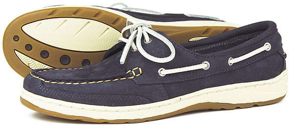 Lagoon Indigo Orca Bay Womens Leather Washable Shoe