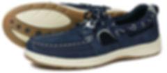 Santa Rosa Indigo Orca Bay Sports Washable Leather shoe