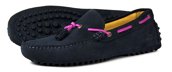 Monaco-Navy Blossom Orca Bay Loafer Driving Shoe