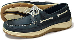 Squamish Navy Mens Sports Boat Shoe Orca Bay