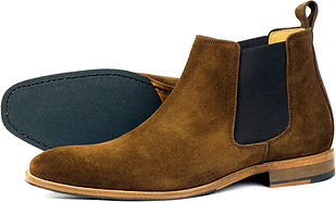 Brompton Brown Suede Orca Bay Chelsea Boot