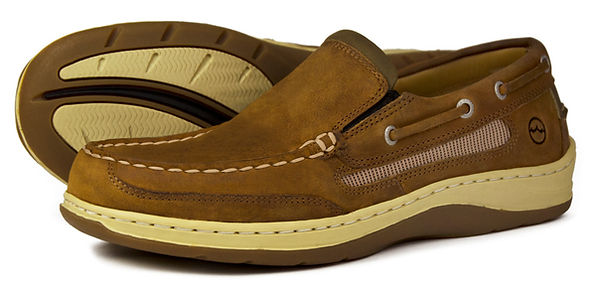 Largs Sand Mens Deck Loafer Orca Bay