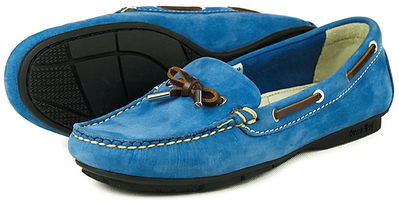Orca Bay Ballena Washable Driving Loafer Powder Blue