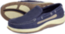 Orca Bay Largs Navy Leather Deck Loafer