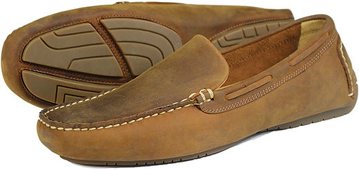 Silverstone Sand Oiled Nubuck Orca Bay Driving Loafer