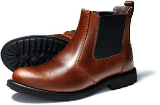 Brecon Elk Mens Chelsea Boot Orca Bay Leather