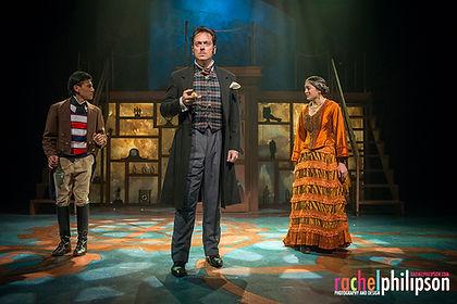 Mark Shanahan Mark Brown Jules Verne 80 Days Theatre