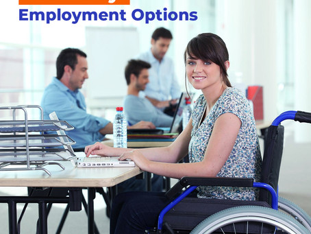 Disability employment options