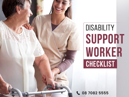 Duties and responsibilities of disability support workers