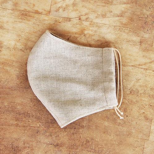 熊野安眠・花粉帽  ( 麻マスク | 手製造 )