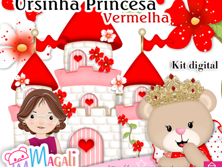 Ursinha Princesa Vermelha - Próximo Lançamento!!