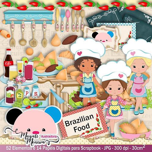 KIT DIGITAL COZINHEIRA BRAZILIAN FOOD