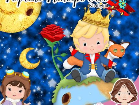 Pequeno Príncipe Cute - Próximo Lançamento!