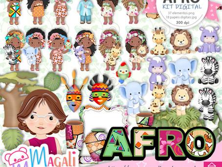 Afro kit digital
