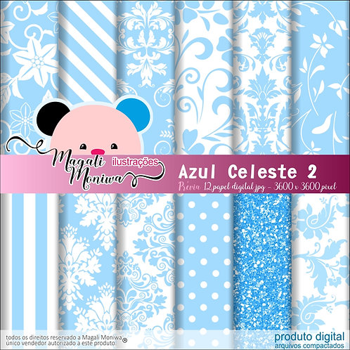 KIT PAPEL DIGITAL AZUL CELESTE 2