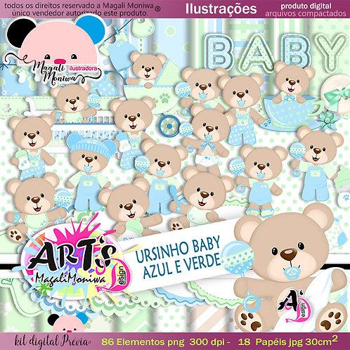 URSINHO BABY kit digital